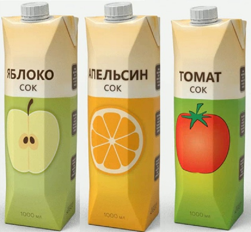 сок из пакета
