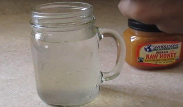 напиток для похудения с мёдом