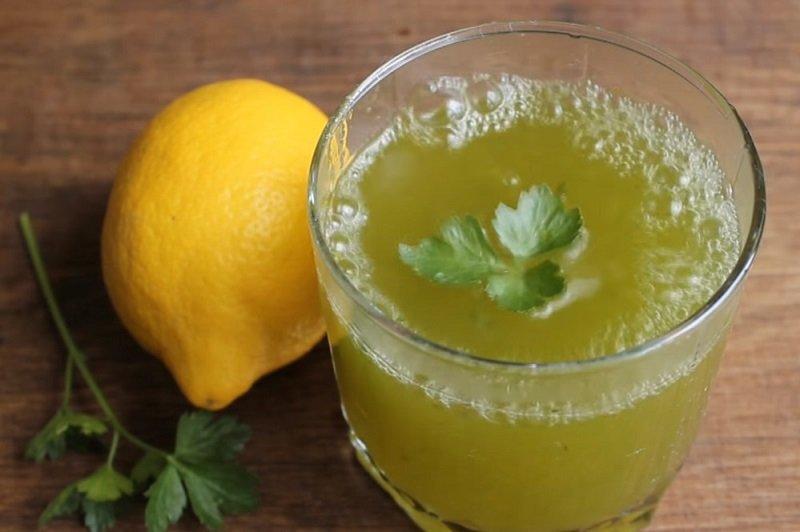 Петрушка лимон вода для похудения отзывы фото