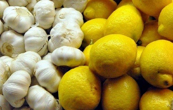 напиток из чеснока и лимона