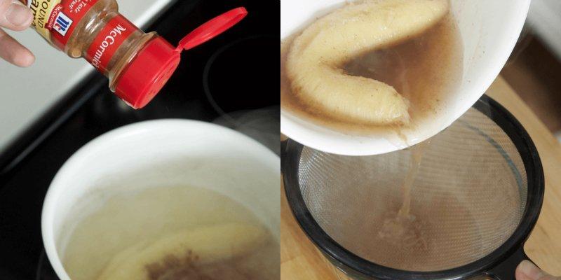 как приготовить банановый чай