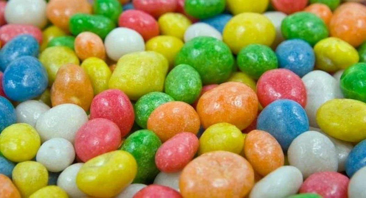 натуральные конфеты с изюмом