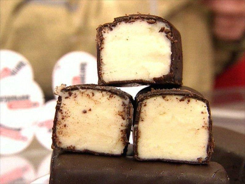 twaróg w czekoladzie
