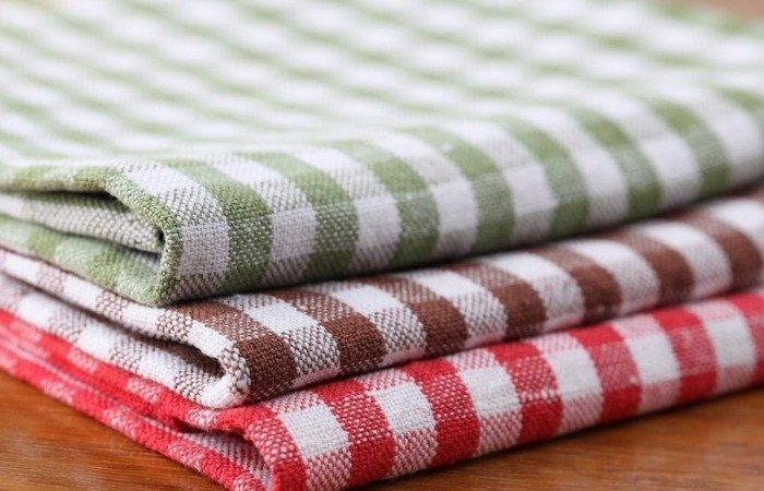 чем отчистить кухонные полотенца
