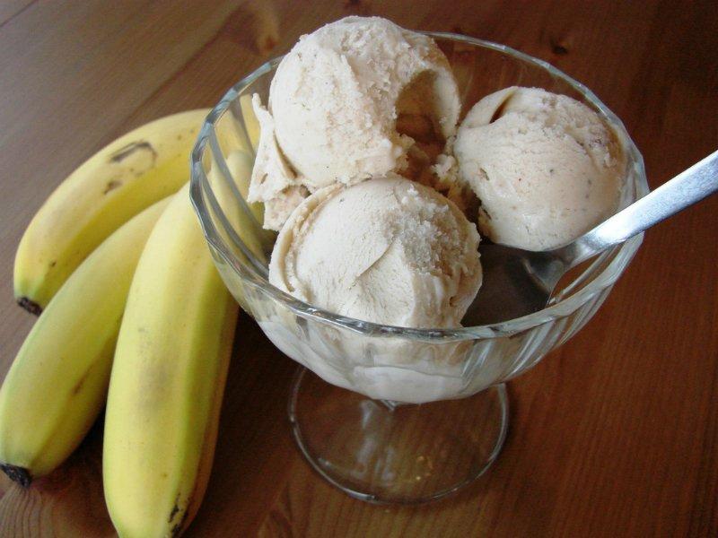 мороженое из бананов