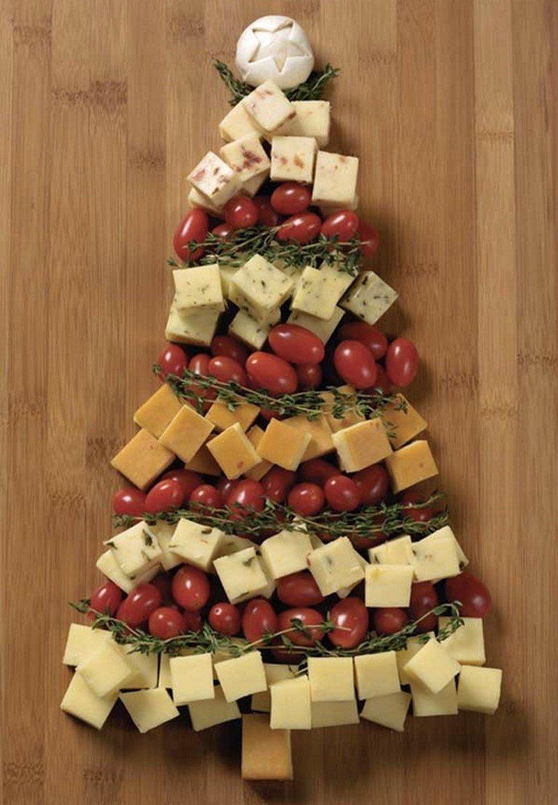 елка для новогоднего стола