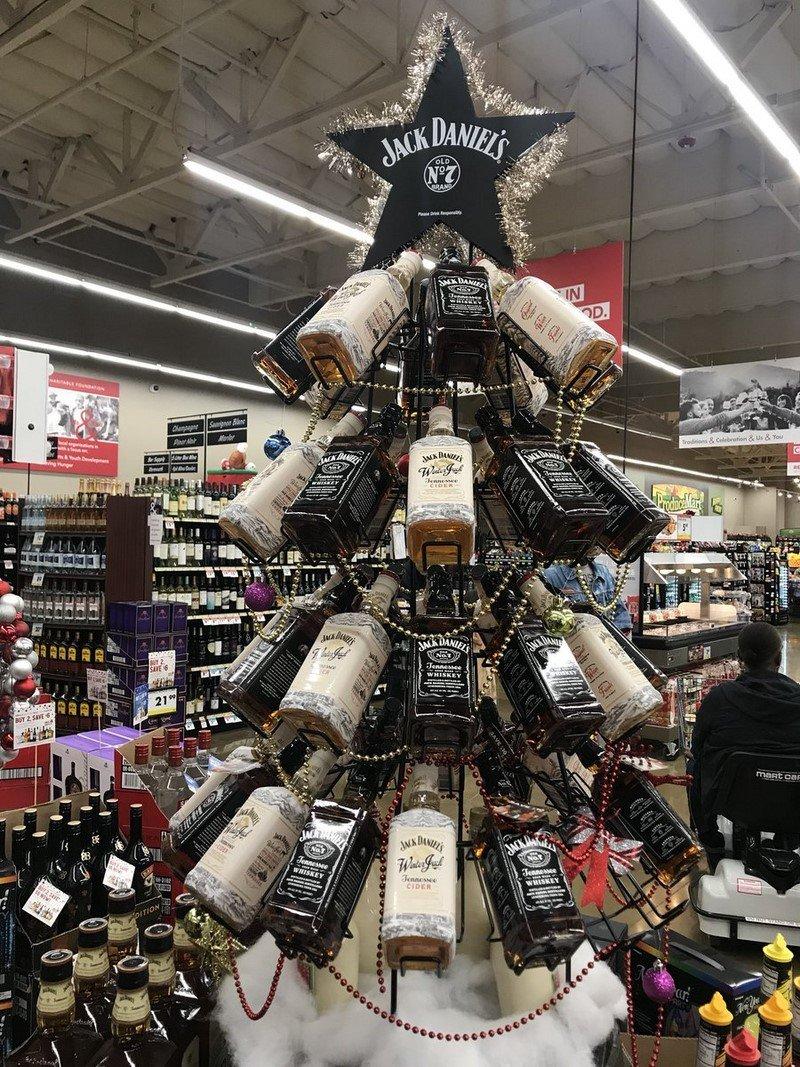 алкогольная елка
