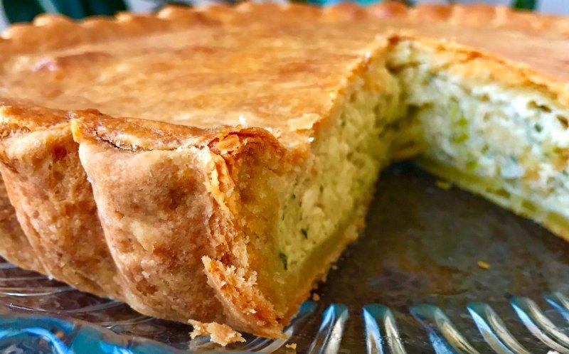 цибульний пиріг