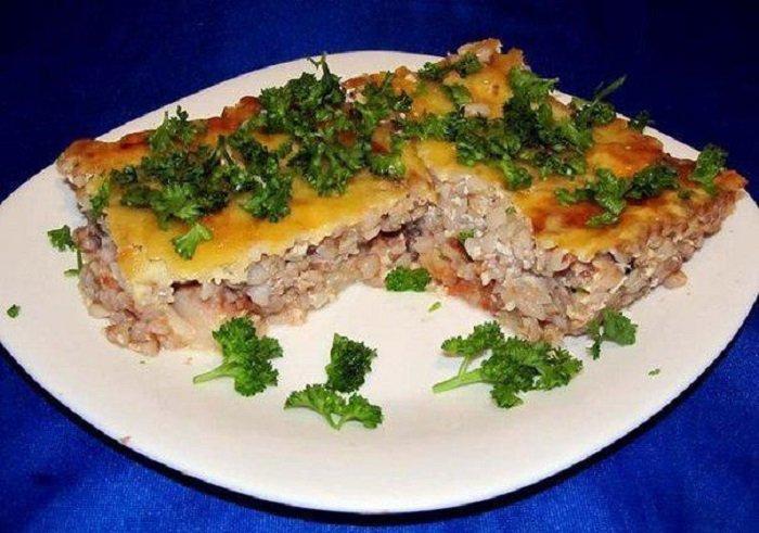 Низкокалорийные блюда из гречки, гречневая запеканка с рыбой