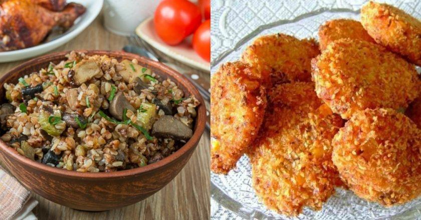 Низкокалорийные блюда из гречки