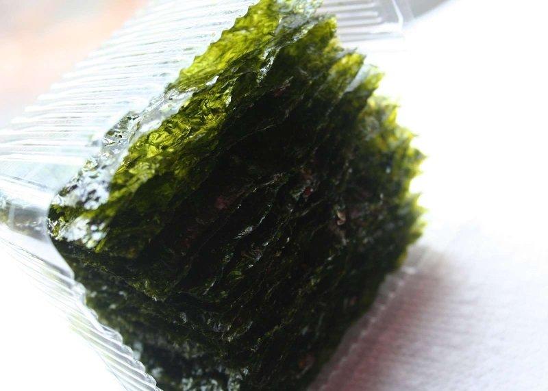 маска из водорослей