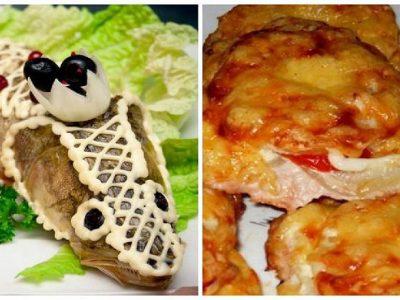 Новогодние горячие блюда