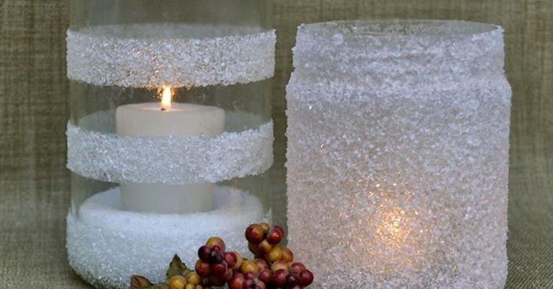 украсить банку солью