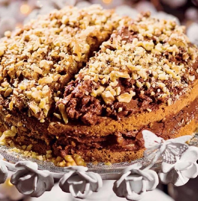 десерт с орехами