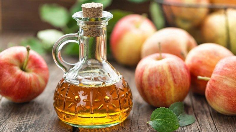 очищение яблочным уксусом