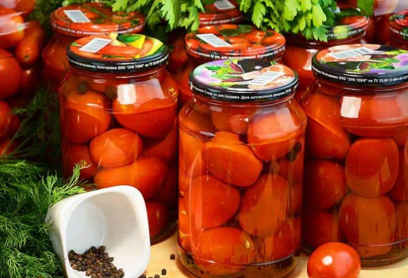 маринованные помидоры с корицей
