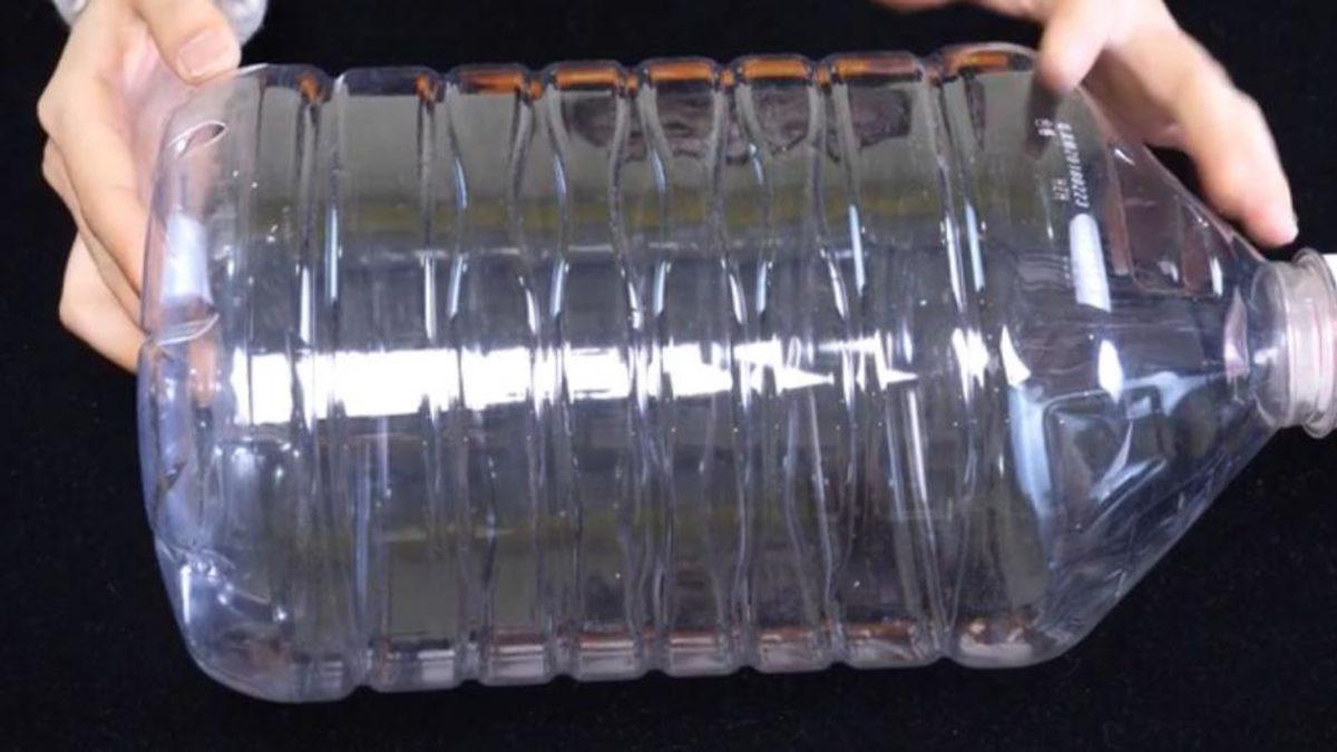 Органайзер для холодильника из пластиковой бутыли