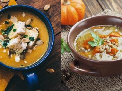 Осенние супы