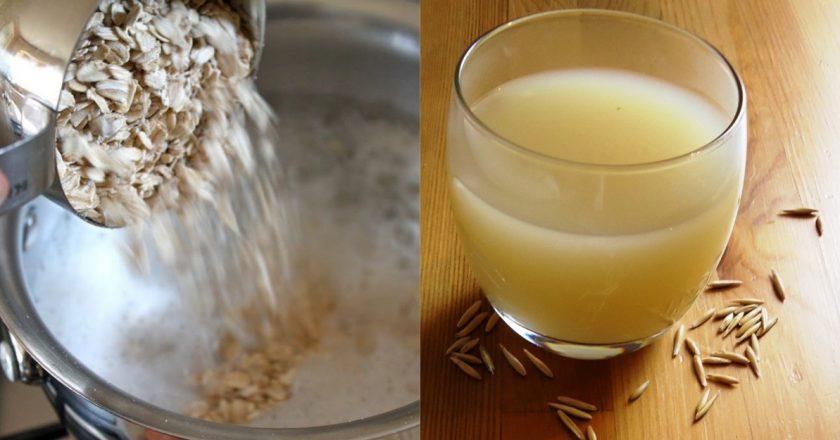 овсяная вода для похудения
