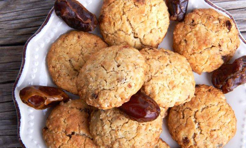 печиво з фініками і бананом