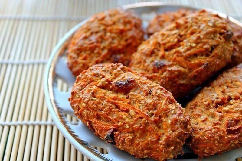морквяно-вівсяне печиво