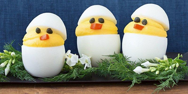 пасхальные блюда из яиц