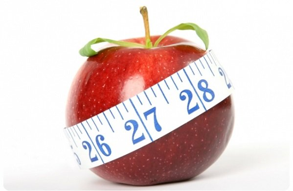 Диета на печеных или свежих яблоками