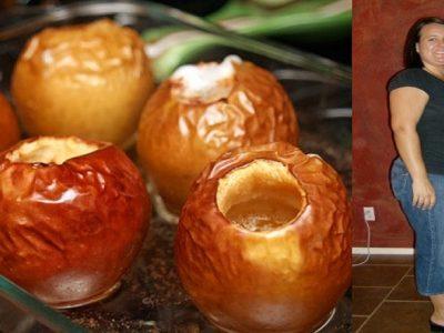 Печеные яблоки для похудения
