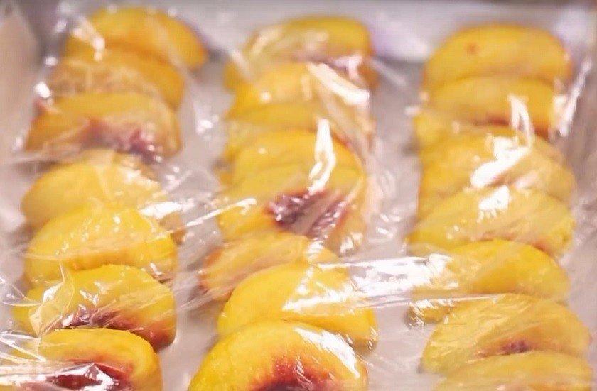 замороженные персики