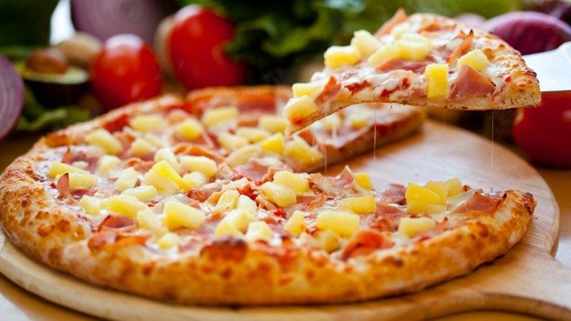 пицца без ананасов