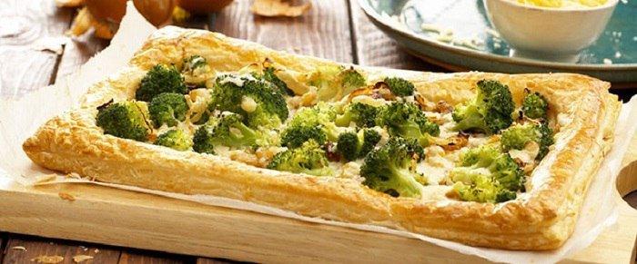 пироги из брокколи
