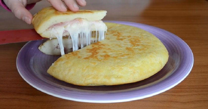 итальянский картофельный пирог фото