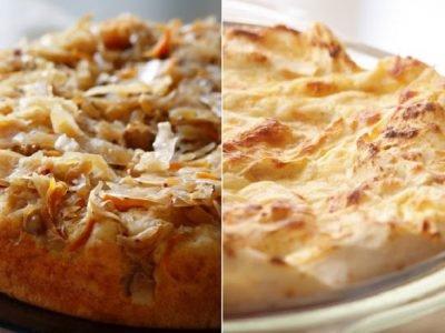 Пироги с капустой