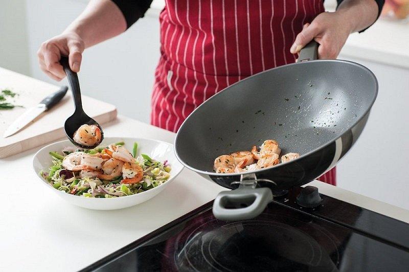 антипригарная сковорода без масла