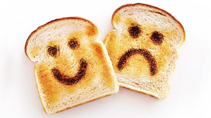 dlaczego chleb się pocił