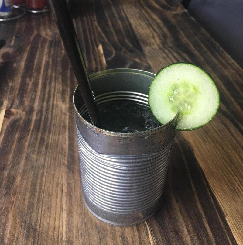 напиток в банке