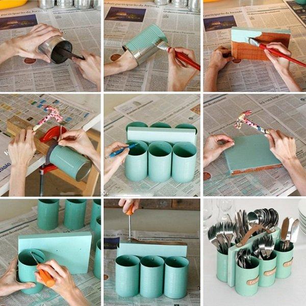 Органайзеры своими руками из подручных материалов