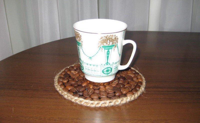 подставка для чашки своими руками