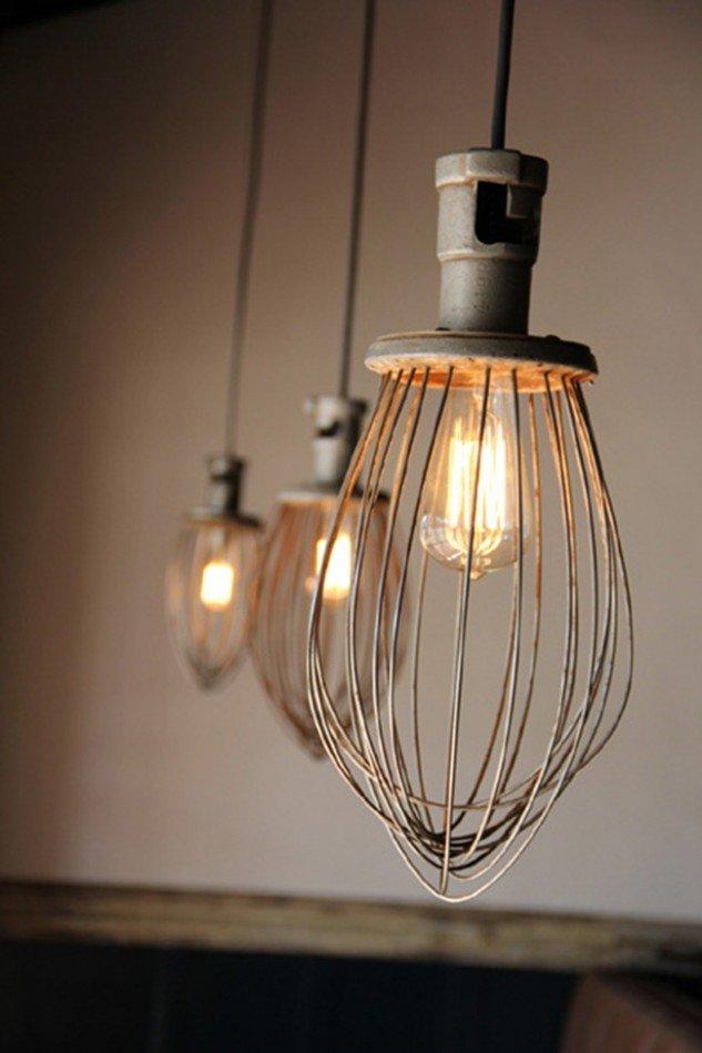лампы из венчиков