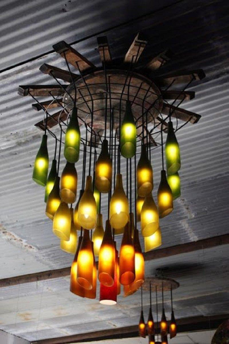 Как сделать простой красивый светильник