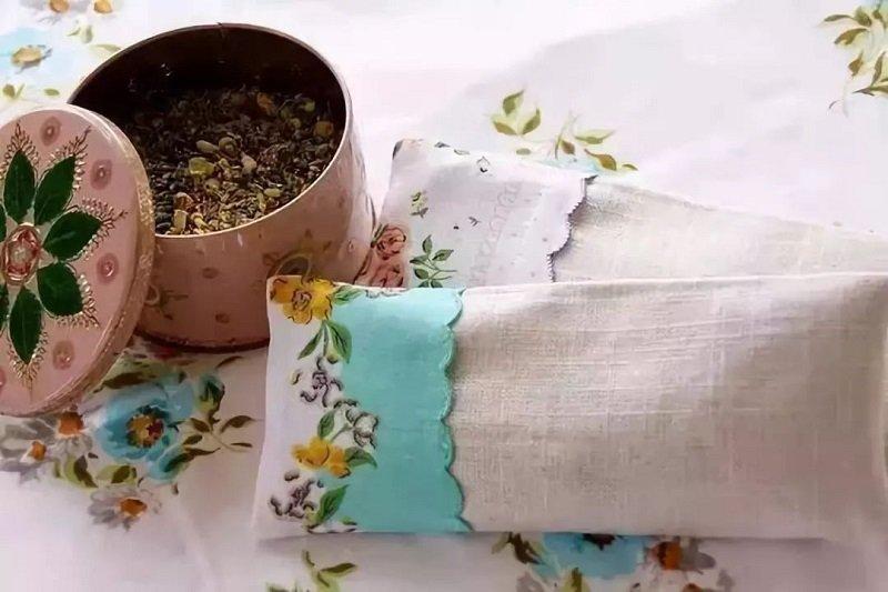 мешочки с травой