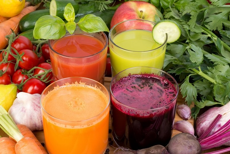 овощные коктейли рецепты