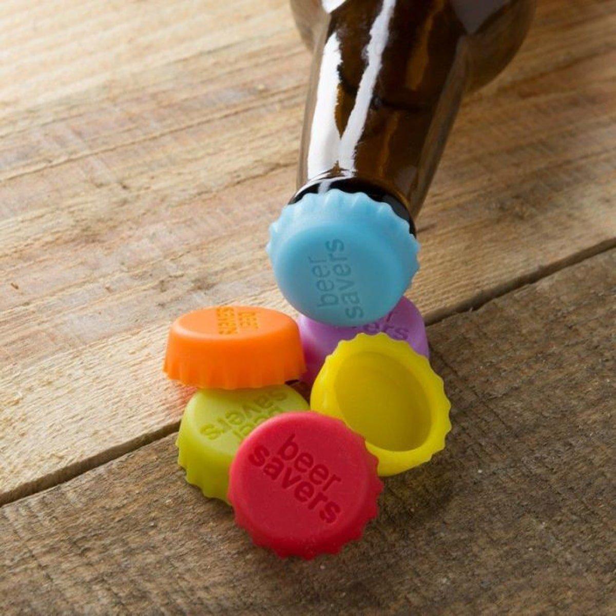 разноцветные многоразовые крышки для бутылок