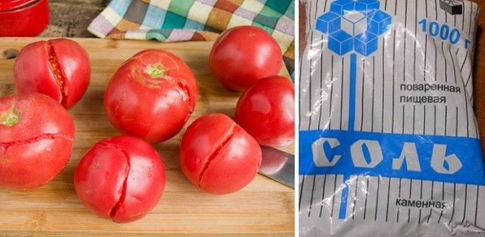 кулинарные советы, лопнувшие помидоры