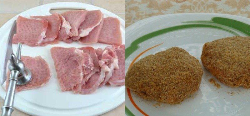 """domowe półprodukty, przygotowanie """"dwa w jednym"""": mięso i ozdoba"""