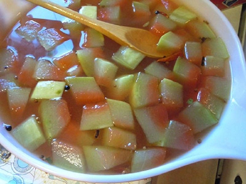 výhody kôry z melónu