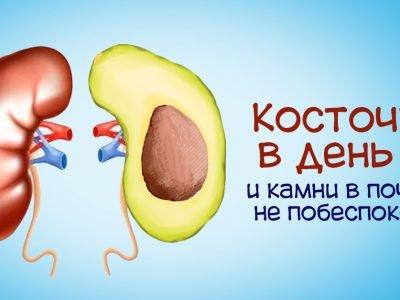 Польза авокадо для почек