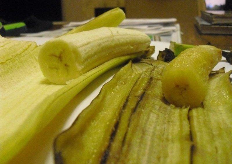 банановая кожура от прыщей