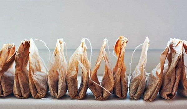 польза чайных пакетиков