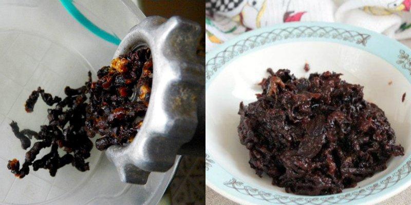 pasta z suszonych śliwek
